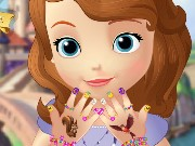 Sofia The First Great Manicure Game