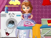 Princess Sofia Ironing Game