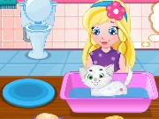 Baby Sofias White Kitty Game