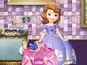 Sofia The First Washing Dresses Game