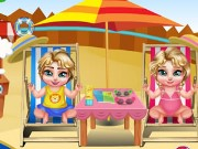 Royal Twins Water Park Game