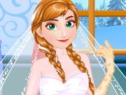 Anna Frozen Wedding Prep Game