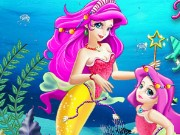 Mermaid Mom Magic World Game