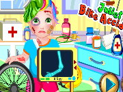 Baby Juliet Bike Accident Game