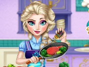 Real Cooking Elsa Game