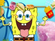 Spongebob Food Skewer Game