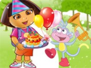 Birthday Girl Dora Makeover Game