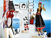 Folk Fashion Greece Game