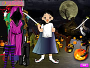 Halloween Cute Dressup Game