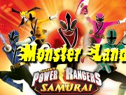 Power Rangers Monster Land Game