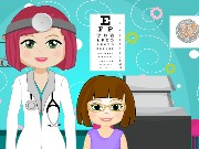 Doctor Amy Eye Hospital Game