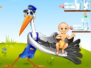 Baby and Stork Game