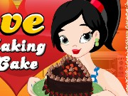 Love making cake Game