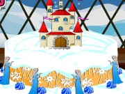 Frozen Castle Cake Game