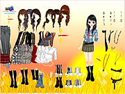 Cornfield Dress Up Game