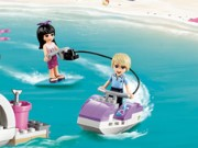 Lego Firends Water Skiing Game