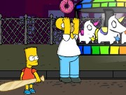 Simpsons Toss Game