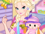 Elsa And Dolls Game