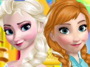 Elsa And Anna Makeup Game