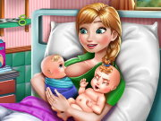 Anna Mommy Twins Birth Game