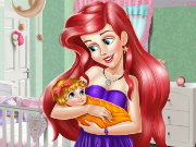 Ariel Baby Room Decoration Game