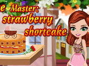 Cake Master Strawberry Shortcake Game