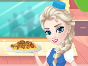 Elsa Restaurant Penne Pasta With Beans Game
