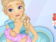 Elsa Baby Birth Game