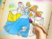 Princess Coloring Book Game