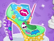 Monster High Design School Shoes Game