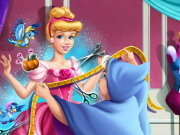 Cinderella Tailor Ball Dress Game