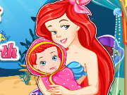 Pregnant Ariel Gives Birth Game