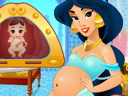 Jasmine Pregnant And Care Baby Game