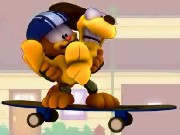 Garfield On Wheels Game