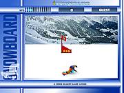 Snowboard Slalom spiel