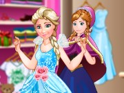 Ice Princess Fashion Store Game