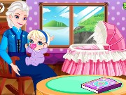 Grandma Elsa Cares Baby Game