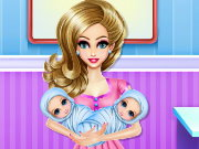 New Born Twins Care Game