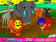 Zoo Coloring Game Game