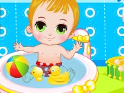 Baby Boy Bathing Game