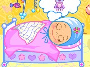 Baby Bathing And Go Sleep Game