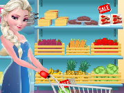 Elsa Burger Maker Game
