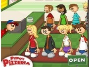 Papas Pizzeria Game