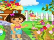 Dora Garden Decor Game