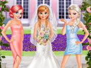 Frozen And Ariel Wedding Game