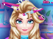 Ice Princess Hair Salon Game