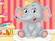 Baby Elephant Salon Game