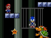 Super Mario Save Sonic Game