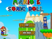 Mario Save Sonic Game
