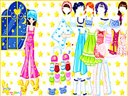 Pajama Party Dress Up Game